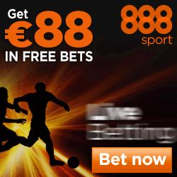 888sport Free Bet – Get £88 in Free Bets