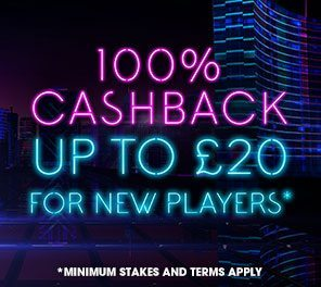 William Hill Vegas Promotional Code for £20 Refund
