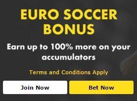 bet365 UK/Euro Football Accumulator Bonus