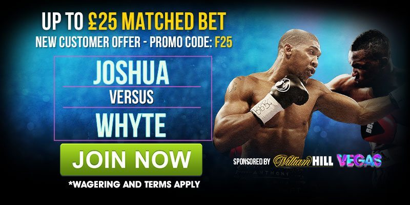 William Hill Europa League, Basketball, and Joshua v Whyte Specials