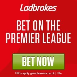 Bet on the Premier League at Ladbrokes!