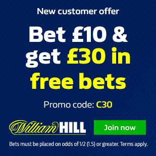 William Hill Promo Codes & Bonuses