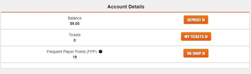 DraftKings FPP Dashboard