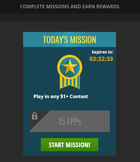 DraftKings Daily Missions