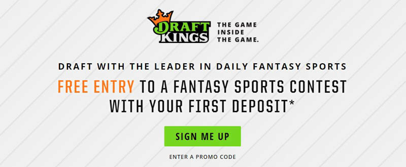 DraftKings No Promo Code Necessary