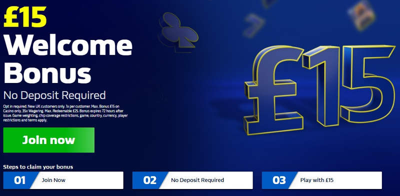 William Hill No Deposit Bonus